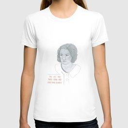Illustration Lena Dunham 'Snacks' T-shirt