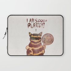 I AM SOOOO PURR'DY! Laptop Sleeve