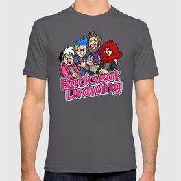 Hosts of Backseat Drawing T-shirt