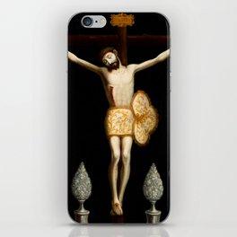 Christ of Ixmiquilpan by Jose de Paez iPhone Skin