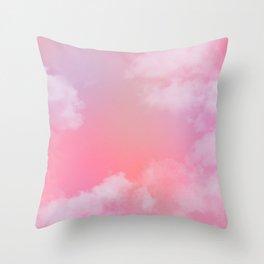 Pastel Sky Throw Pillow