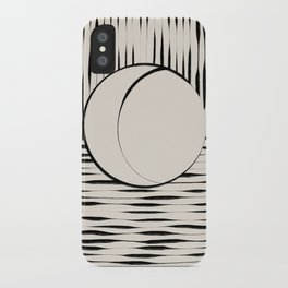 Half Moon iPhone Case