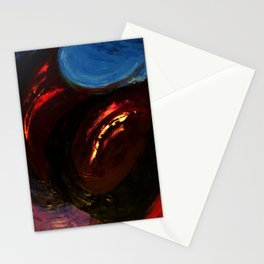 Abstract Untitled by Robert S. Lee Stationery Cards