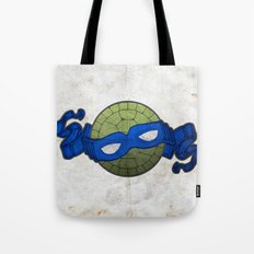 the blue turtle Tote Bag