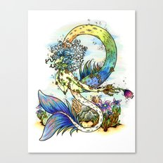 Elemental series - Water Canvas Print