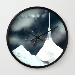 tower and giant Wall Clock