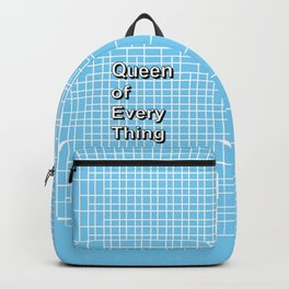 Queen of Everything - Valentines Deep Web Thoughts Backpack