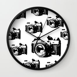 Camera Zing Wall Clock