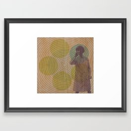 Hello Hello Framed Art Print