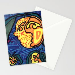Lumpy Peach Faces Stationery Cards