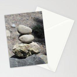 Balance Stacked Rocks Yellowstone National Park Stationery Cards