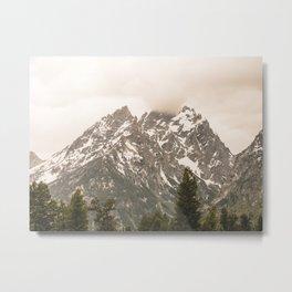 Grand Teton National Park Adventure - Wanderlust Mountains Metal Print