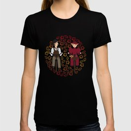 Retro cyclists T-shirt