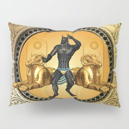 Anubis the egyptian god Pillow Sham
