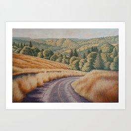 Lake Bronson Art Print