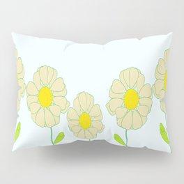 Five Daisies Pillow Sham