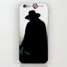 V for Vendetta (e4) iPhone & iPod Skin