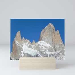 Fitz Roy and His Friends in Patagonia Mini Art Print