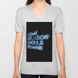 Delusion Unisex V-Neck