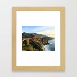 Bixby Bridge, 2015 Framed Art Print