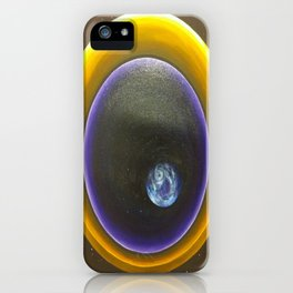 Kepler Telescope Reflection of Earth-Like Planet  iPhone Case