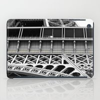 eiffel tower iPad Cases featuring Eiffel Tower by James Tamim