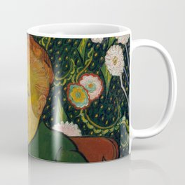 Vincent van Gogh - La Berceuse (Woman Rocking a Cradle; Augustine-Alix Pellicot Roulin, 1851–1930) Coffee Mug