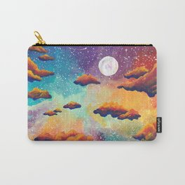 Rainbow Moonlit Sky Carry-All Pouch