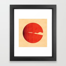 The long goodbye Framed Art Print