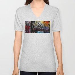 Alley Colors Unisex V-Neck