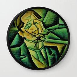 Juan Gris - Digital Remastered Edition - Juan Legua - Original Green Wall Clock