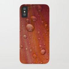 Dewdrops Slim Case iPhone X