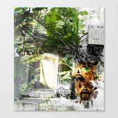 Electric Jungle Canvas Print