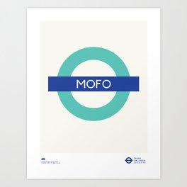 Mofo   TFL Art Print