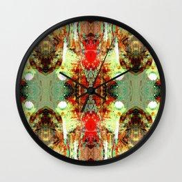 Dragon Skin Glamorama III Wall Clock