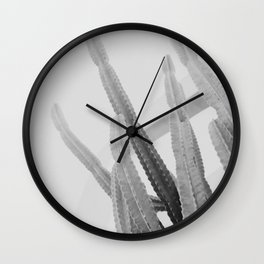California Cacti Wall Clock