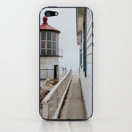 Point Reyes Lighthouse up close iPhone Skin