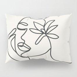 Abstract Minimal Woman I Pillow Sham
