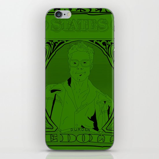 In Tyler We Trust iPhone & iPod Skin