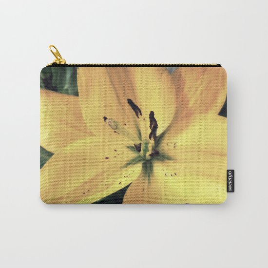 Yellow Lily #1 Carry-All Pouch