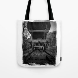 Old Railway Wagon Tote Bag
