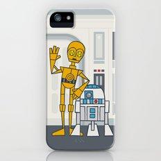 EP4 : C3PO & R2D2 iPhone (5, 5s) Slim Case