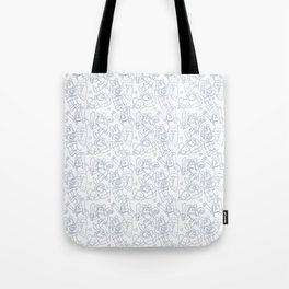 Finn Pattern Tote Bag