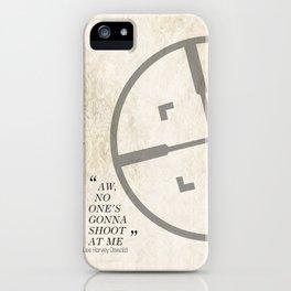 Famous Last words: Lee Harvey Oswald iPhone Case