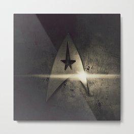 spacecraft logo Metal Print
