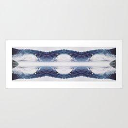 Dream On Surfers #4 Art Print