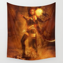 Witch Tower Wall Tapestry