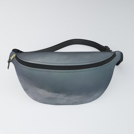 Blue Stormy Sea Fanny Pack
