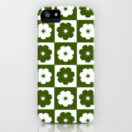 Periwinkles iPhone Case