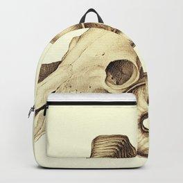 The goat skull Backpack